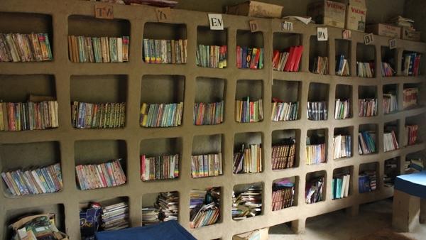 Une des bibliothèques publiques