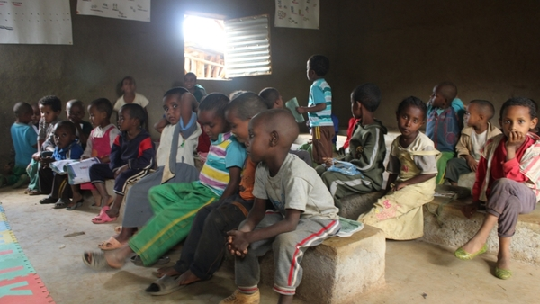 La maternelle de l'école à Awera Amba